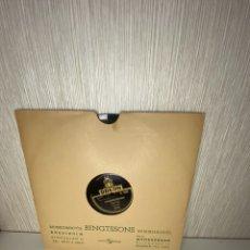 Discos de pizarra: ANTIGUO DISCO DE PIZARRA EN BUEN ESTADO. Lote 249395805