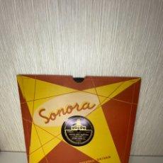 Discos de pizarra: ANTIGUO DISCO DE PIZARRA EN BUEN ESTADO. Lote 249396095