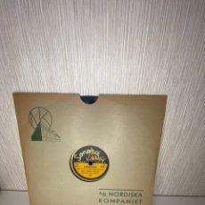 Discos de pizarra: ANTIGUO DISCO DE PIZARRA EN BUEN ESTADO. Lote 249397615
