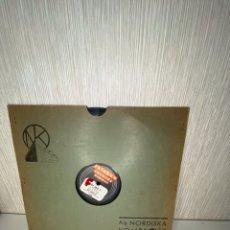 Discos de pizarra: ANTIGUO DISCO DE PIZARRA EN BUEN ESTADO. Lote 249398020
