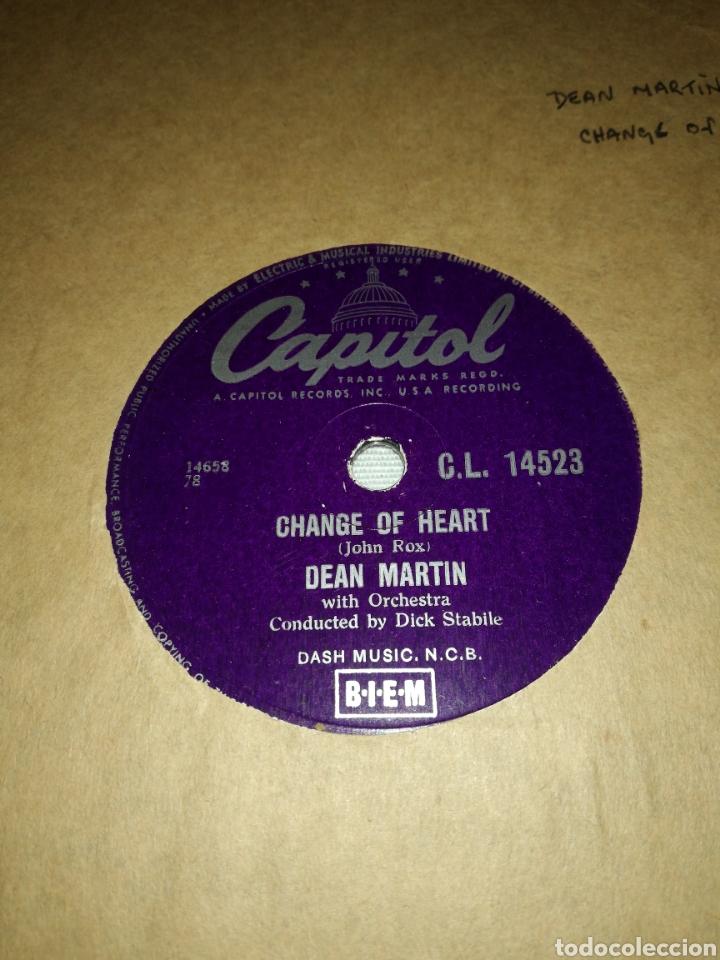 Discos de pizarra: Lote 3 discos de 78rpm FRANK SINATRA Y DEAN MARTIN - Foto 3 - 251262975
