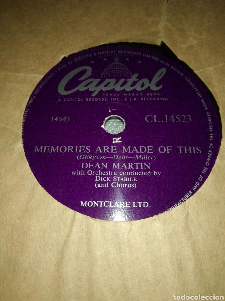 Discos de pizarra: Lote 3 discos de 78rpm FRANK SINATRA Y DEAN MARTIN - Foto 5 - 251262975