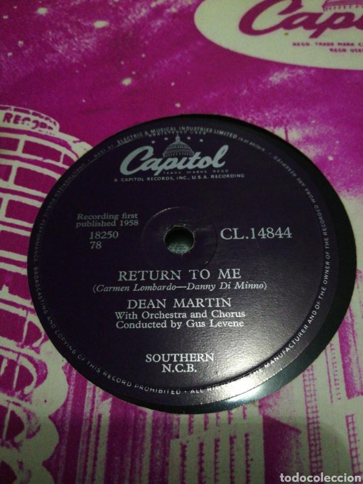 Discos de pizarra: Lote 3 discos de 78rpm FRANK SINATRA Y DEAN MARTIN - Foto 6 - 251262975