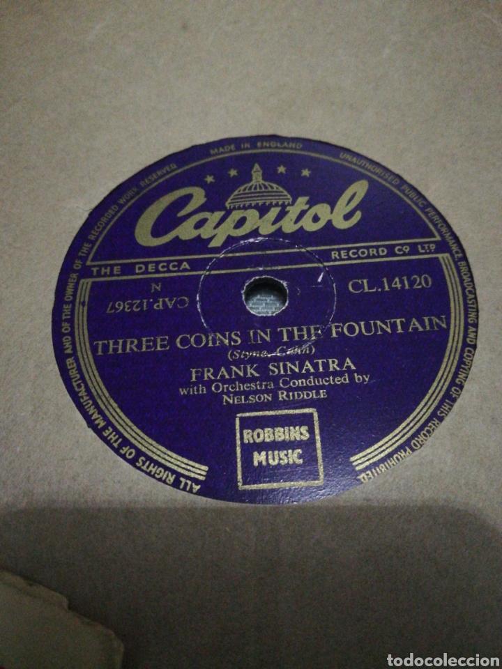 Discos de pizarra: Lote 3 discos de 78rpm FRANK SINATRA Y DEAN MARTIN - Foto 7 - 251262975