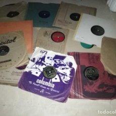 Discos de pizarra: LOTE DE 15 DISCOS DE PIZARRA DE JAZZ Y BLUES -VER FOTOS. Lote 251701650