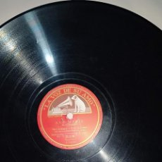 """Discos de pizarra: DISCO DE PIZARRA """"LA VOZ DE SU AMO"""" AVE MARIA BACH MCCORMACK Y FRITZ KREISLER. Lote 251818780"""