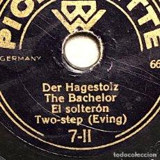 Discos para gramofone: 78 RPM-PIGMYNETTE - LIRIO DEL VALLE / SOLTERON - MAZURKA - TEO STEP. Lote 251927015