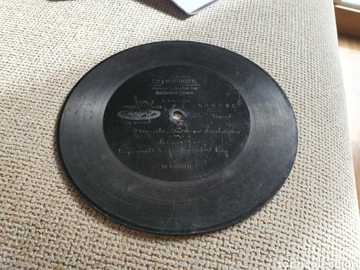 Discos de pizarra: 78 rpm Berlirner banda regimiento del Rey - Foto 2 - 252003625