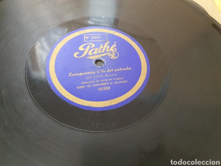 Discos de pizarra: 78 RPM RARO PATHE Cecilio Navarro - Foto 2 - 252139180
