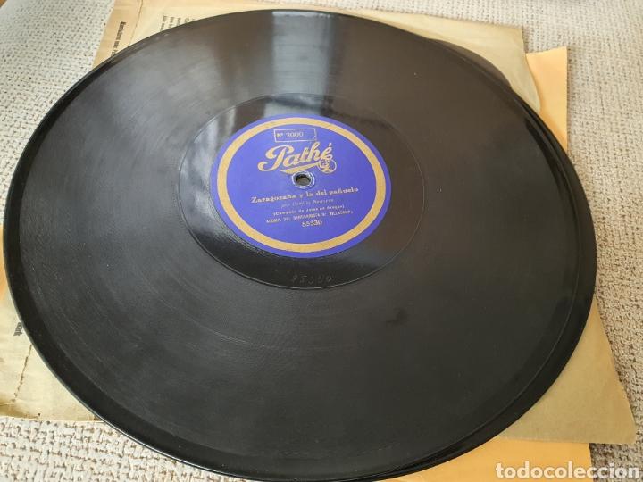 Discos de pizarra: 78 RPM RARO PATHE Cecilio Navarro - Foto 3 - 252139180