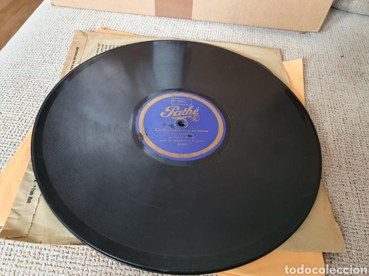 Discos de pizarra: 78 RPM RARO PATHE Cecilio Navarro - Foto 4 - 252139180