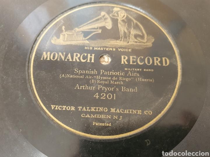 78 RPM HIMNO DE RIEGO Y MARCHA REAL ESPAÑOLA (Música - Discos - Pizarra - Flamenco, Canción española y Cuplé)