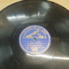 Discos de pizarra: DISCO 78RPM TIROLIROLIRO / UPA UPA. Lote 252168420