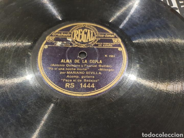 78 RPM MARIANO SEVILLA Y CHATO DE LAS VENTAS (Música - Discos - Pizarra - Flamenco, Canción española y Cuplé)