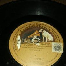 Discos de pizarra: DISCO 78RPM NIÑA DE LOS PEINES - TARANTA DE GRABIELA / SOLEARES. Lote 252547565