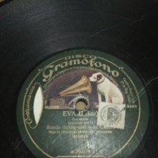 Discos de pizarra: DISCO 78RPM EL CONDE DE LUXEMBURGO / EVA LEHAR.. Lote 252554055