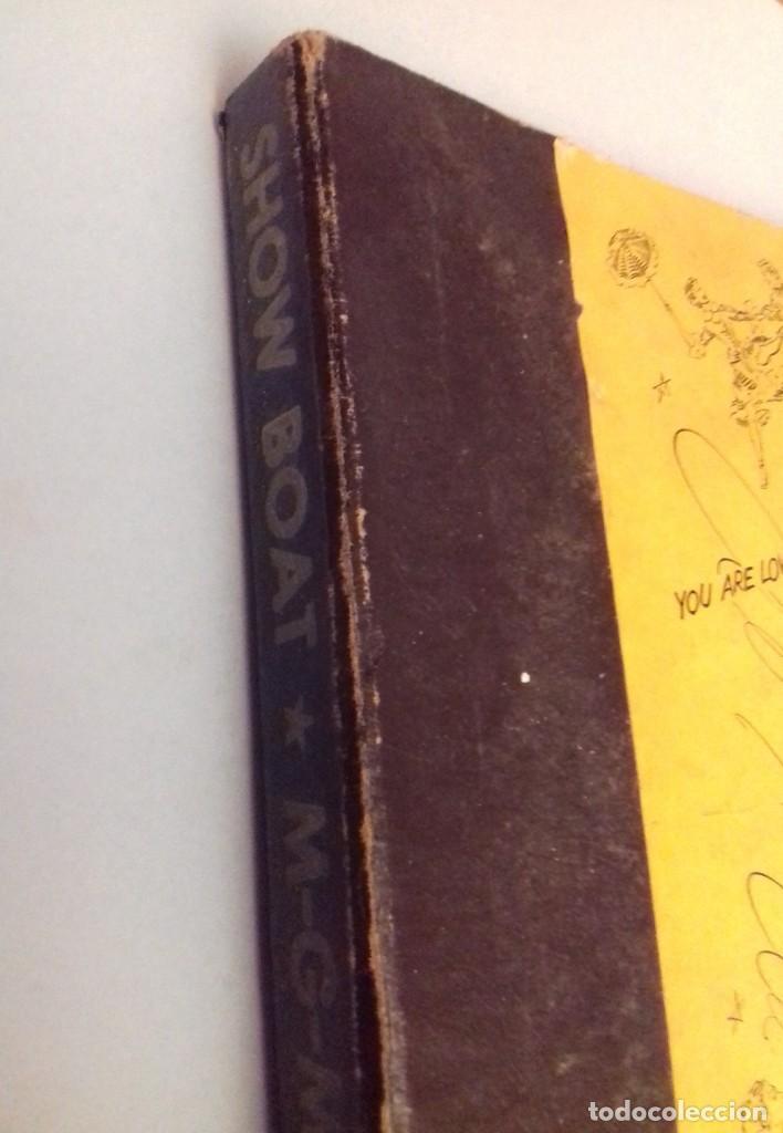Discos de pizarra: Album BSO del musical SHOW BOAT (MAGNOLIA) versión film de 1951 con 4 discos pizarra METROLITE MGM - Foto 7 - 252660035