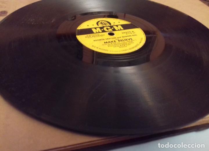 Discos de pizarra: Album BSO del musical SHOW BOAT (MAGNOLIA) versión film de 1951 con 4 discos pizarra METROLITE MGM - Foto 10 - 252660035