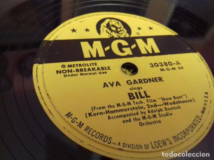 Discos de pizarra: Album BSO del musical SHOW BOAT (MAGNOLIA) versión film de 1951 con 4 discos pizarra METROLITE MGM - Foto 11 - 252660035