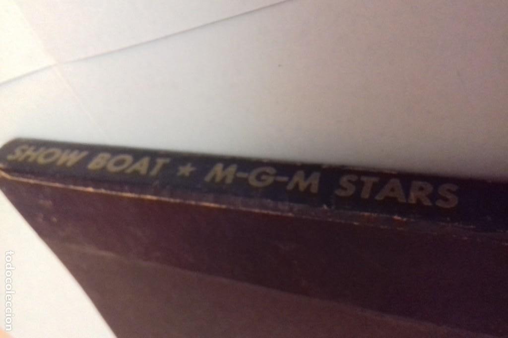 Discos de pizarra: Album BSO del musical SHOW BOAT (MAGNOLIA) versión film de 1951 con 4 discos pizarra METROLITE MGM - Foto 22 - 252660035