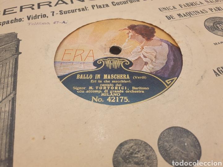 Discos de pizarra: 78 RPM SIGNOR ENEA SALVI TANHAUSER - Foto 2 - 252667455