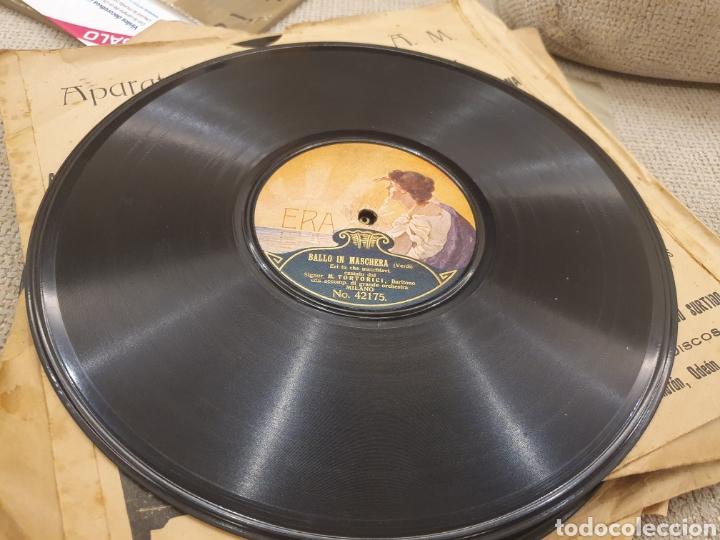 Discos de pizarra: 78 RPM SIGNOR ENEA SALVI TANHAUSER - Foto 3 - 252667455