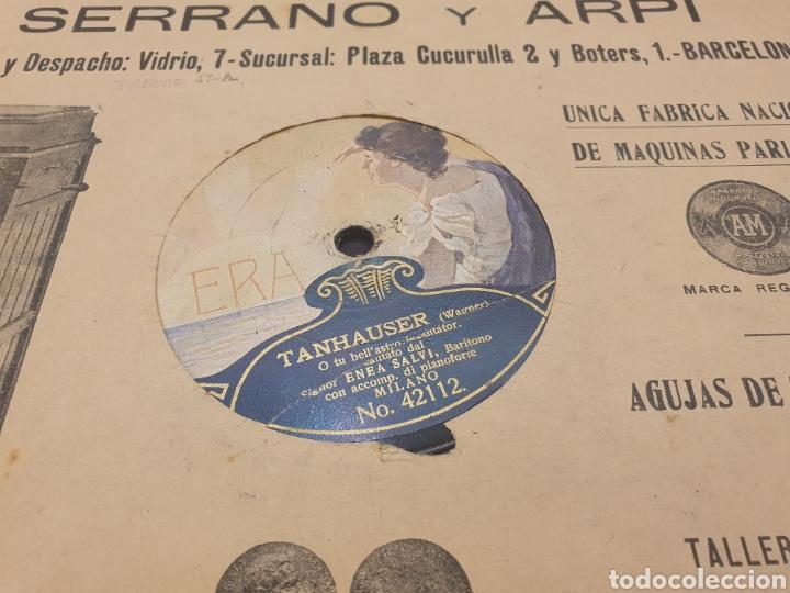 78 RPM SIGNOR ENEA SALVI TANHAUSER (Música - Discos - Pizarra - Clásica, Ópera, Zarzuela y Marchas)