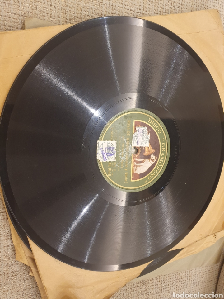 Discos de pizarra: Mercedes Seros 78 rpm - Foto 2 - 252669350
