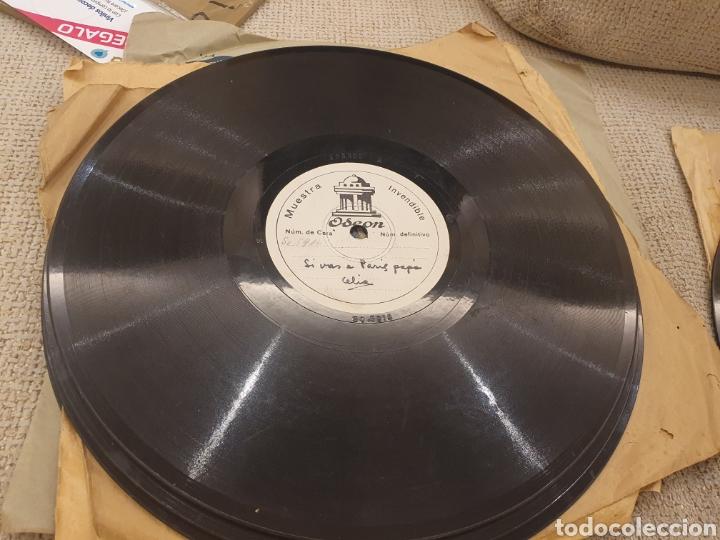 Discos de pizarra: 78 RPM DISCO MUESTRA INVENDIBLE CELIA GAMEZ - Foto 2 - 252670145