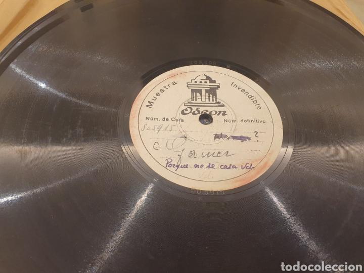Discos de pizarra: 78 RPM DISCO MUESTRA INVENDIBLE CELIA GAMEZ - Foto 3 - 252670145