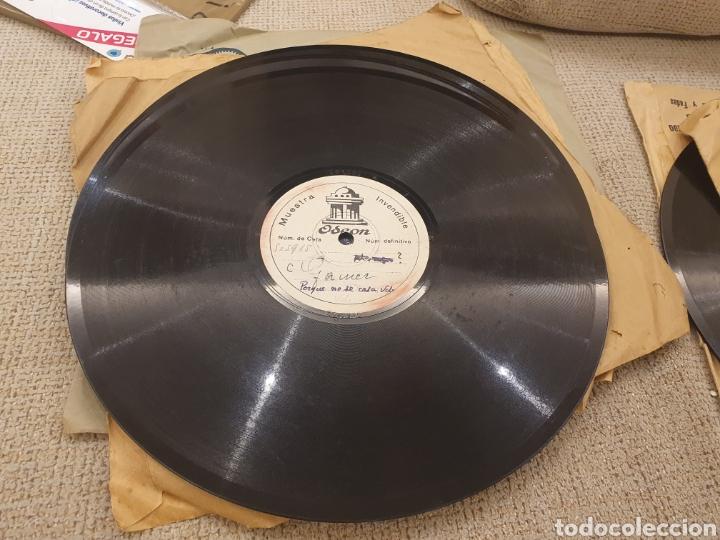 Discos de pizarra: 78 RPM DISCO MUESTRA INVENDIBLE CELIA GAMEZ - Foto 4 - 252670145