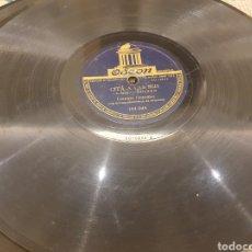 Discos de pizarra: 78 RPM LORENZO GONZALEZ. Lote 252670910