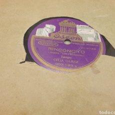 Discos de pizarra: 78 RPM CELIA GAMEZ TANGO. Lote 252672490