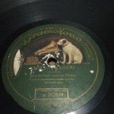 Discos de pizarra: DISCO 78RPM CARMEN FLORES ADIOS FACUNDO / PA QUE TE FIES CIRILO. Lote 252697965