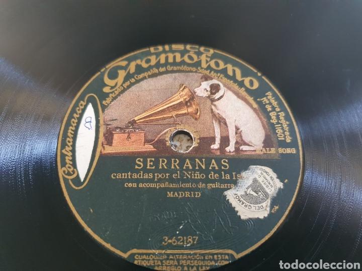 Discos de pizarra: 78 RPM NIÑO DE LA ISLA - Foto 2 - 252950505
