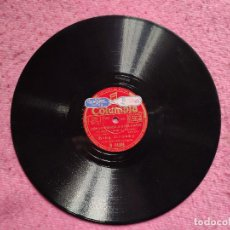 """Discos de pizarra: 10"""" BING CROSBY - THE PESSIMISTIC CHARACTER (BSO 'IF I HAD MY WAY') COLUMBIA R 14395 (EX). Lote 253138795"""