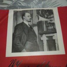 Discos de pizarra: DISCO 78RPM DISCURSO DE VLADIMIR LENIN. Lote 253185715