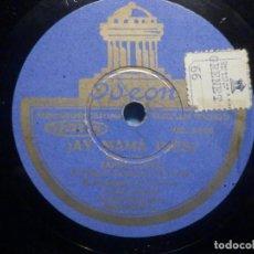 Discos de pizarra: PIZARRA ODEÓN 182 609 - EL QUE SIEMBRA SU MAIZ - ¡AY MAMÁ INÉS! TANGO CONGO - LOS DE CALAMAGÜEY. Lote 253185985