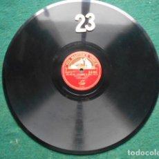 Discos de pizarra: PIZARRA LA VOZ DE SU AMO 12 PULGADAS GRAMOPHONE BALLADE Nº 1 IN F MINOR ALFRED CORTOT. Lote 253717630