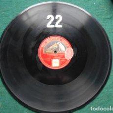 Discos de pizarra: PIZARRA LA VOZ DE SU AMO 12 PULGADAS GRAMOPHONE CRACOVIENNE FANTASTIQUE PADEREWSKI. Lote 253718160