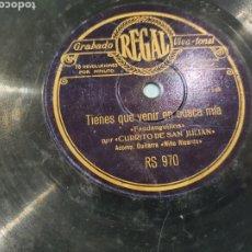 Discos de pizarra: 78 RPM CURRITO DE SAN JULIAN. Lote 253829295