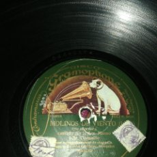 Discos de pizarra: DISCO 78RPM SRES. CRESPO Y GONZALEZ- MOLINOS DE VIENTO.. Lote 254268305