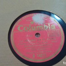 Discos de pizarra: MANOLO CARACOL EN LA TORRE DE LA VELA / LA PALOMA EN EL PECHO COLUMBIA R 14211. Lote 254403185