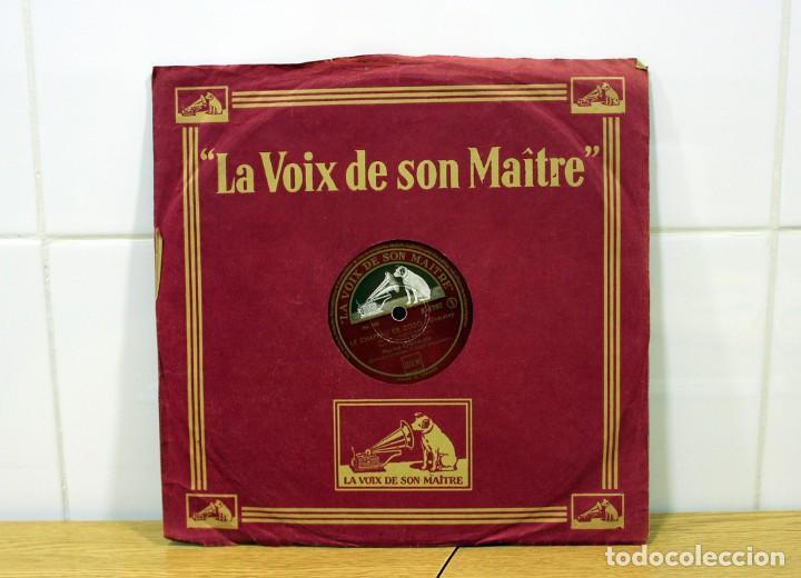 DISCO DE PIZARRA MAURICE CHEVALIER. (MA POMME Y LE CHAPEAU DE ZOZO) (Música - Discos - Pizarra - Solistas Melódicos y Bailables)