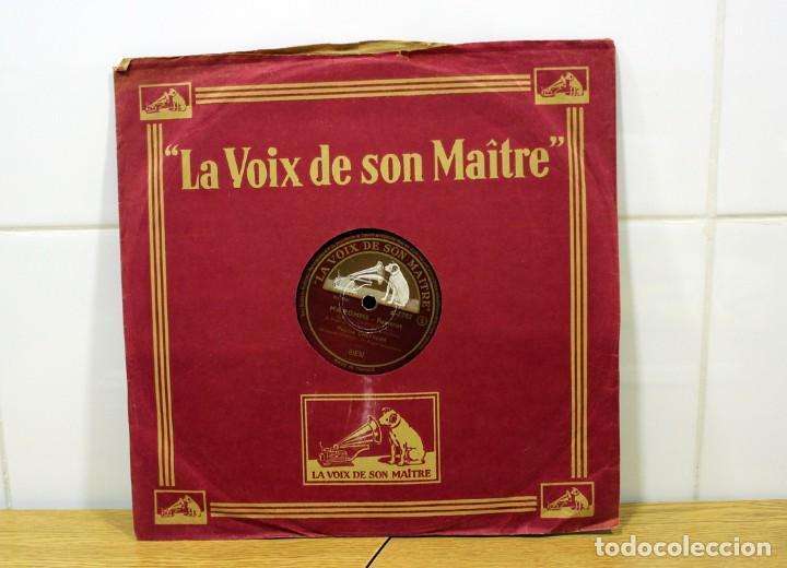 Discos de pizarra: DISCO DE PIZARRA MAURICE CHEVALIER. (MA POMME Y LE CHAPEAU DE ZOZO) - Foto 2 - 254403380
