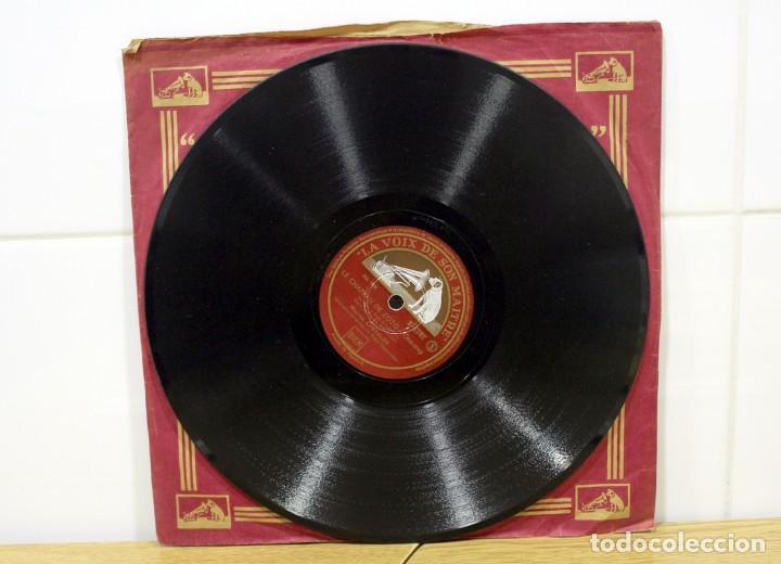 Discos de pizarra: DISCO DE PIZARRA MAURICE CHEVALIER. (MA POMME Y LE CHAPEAU DE ZOZO) - Foto 4 - 254403380
