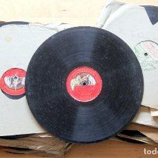 Discos de pizarra: LOTE 40 DISCOS PIZARRA PARA GRAMOLA/GRAMOFONO DESDE 1900'S: CARUSO,FLETA,IMP.ARGENTINA,ASSO,ROYO.... Lote 254420415