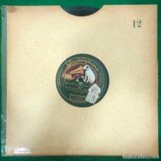 Discos de pizarra: DISCO 78 RPM - ¡ A LA PLAZA! / MI ISA ( CANCION CANARIA) DISCO GRAMOFONO SELLO GRAMOPHONE / RF-9459. Lote 254482505