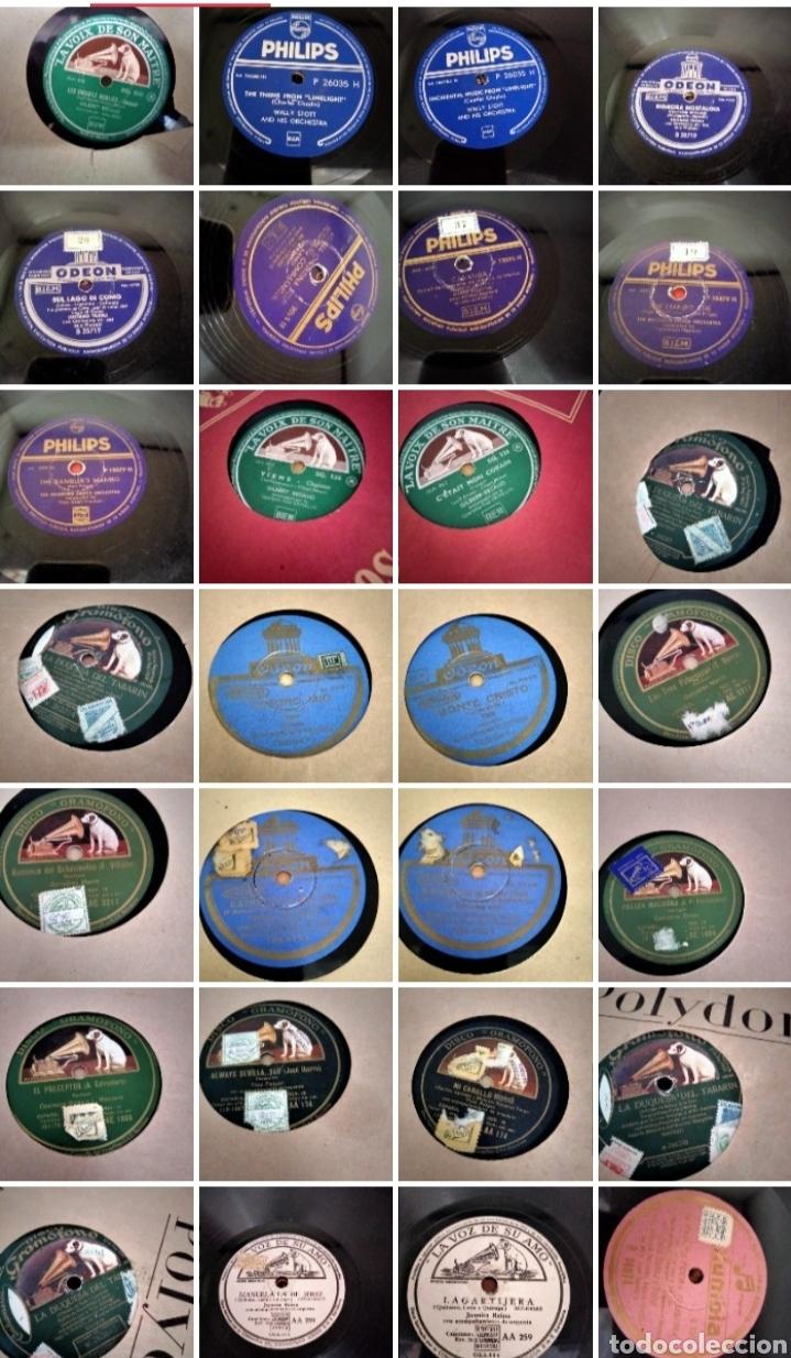 LOTE 32 DISCOS DE PIZARRA (ESCUCHAMOS OFERTAS) (Música - Discos - Pizarra - Otros estilos)