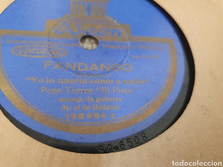 78 RPM PEPE TORRES EL PINTO (Música - Discos - Pizarra - Flamenco, Canción española y Cuplé)